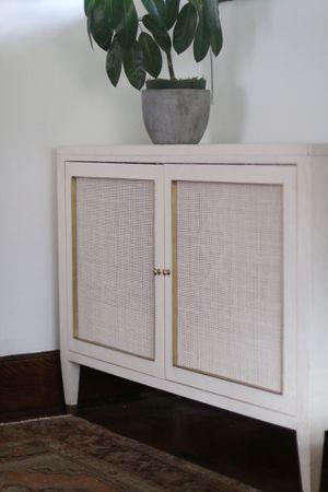 Designer white cabinet for Sale in Salt Lake City, UT