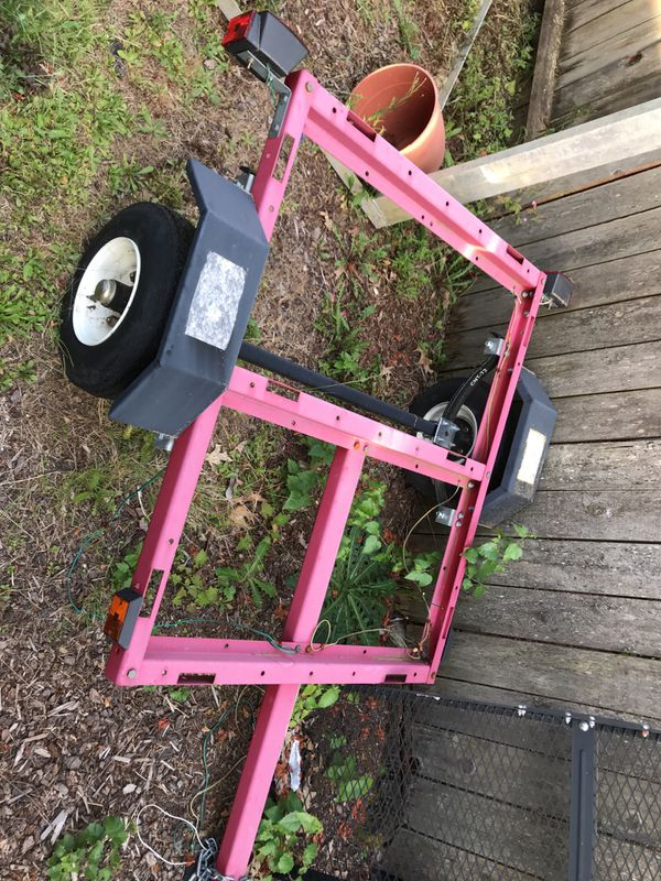 Trailer build yourself ! All materials are for sale