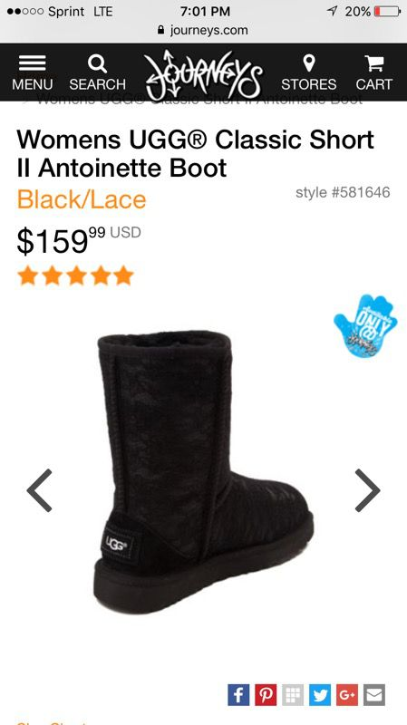 ea1a68f9c87 Womens UGG Classic Short II Antoinette Boot for Sale in Elk Grove Village,  IL - OfferUp