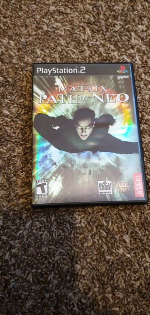 PS2 The Matrix Path of Neo for Sale in North Las Vegas, NV