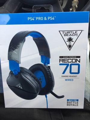 Turtle beach PS4 wired headset for Sale in Willoughby, OH