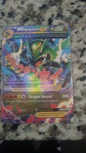Mega Rayquaza Pokemon card for Sale in Las Vegas, NV