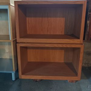 Two Wooden Cubies for Sale in University Place, WA