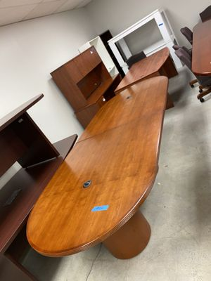 10 foot conference table with power inserts for Sale in Doraville, GA