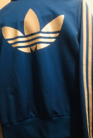 Adidas SST track jacket & pant set. Medium size. Basically new never worn just dry cleaner. for Sale in Mesquite, TX