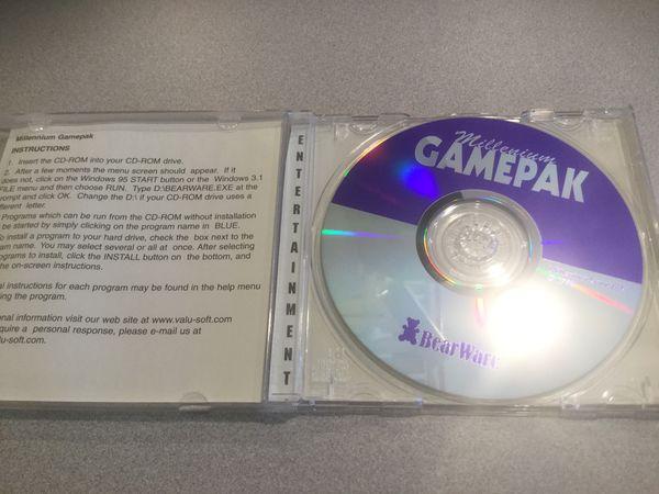 Gamepak CD ROM GAME
