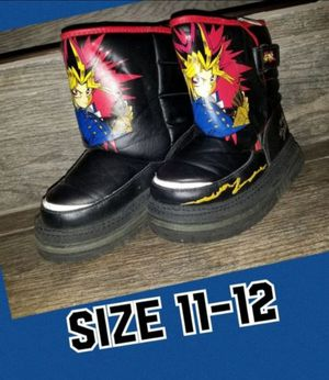 Snow boots kids size 11/12 for Sale in Fontana, CA