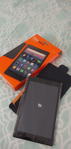 """Huge brand new tablet... HD, 16 gigas of memory,.. 8"""" perfect screen... Brand new, no scratches, no malfunction,. In box with charger and papers... for Sale in Miami Shores, FL"""