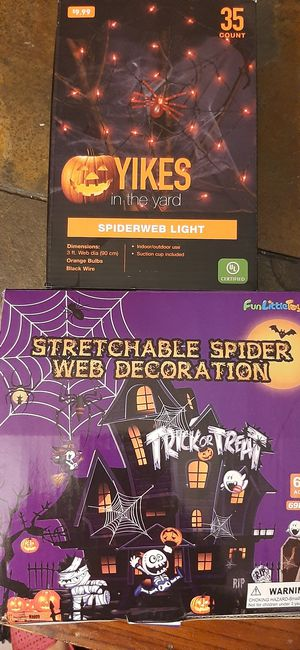 Spider Web Light and Stretchy Web for Sale in Gardena, CA