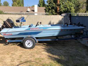 1986 Skeeter strada F80 bass boat original low HRS for Sale in Los Angeles, CA