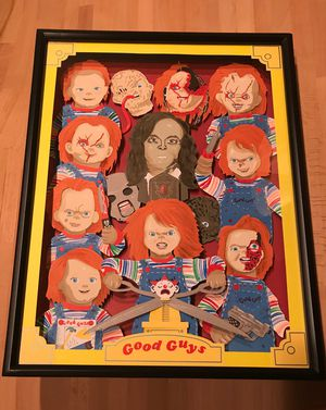 Child's play Good guys 3D frame for Sale in San Antonio, TX