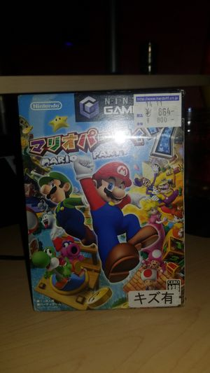 Mario Party 7 Japanese copy New!! for Sale in Hanford, CA