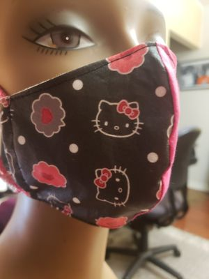 Hot Pink Hello Kitty Mask for Sale in Manor, TX