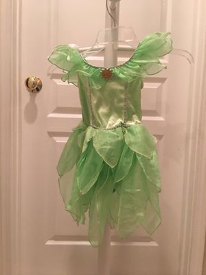 Tinkerbell Dress Costume Size 2-3 for Sale in Rancho Santa Margarita, CA