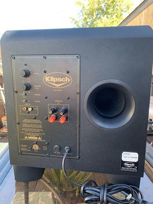 "Klipsch 10"" powered subwoofer for Sale in Oak Point, TX"