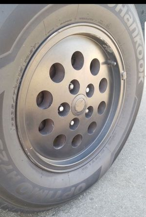 15x8 set of rims with 5 on 4.5 for Sale in Riverside, CA