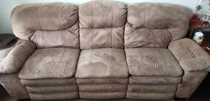 Free light brown suede sofa for Sale in Stafford, VA