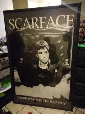 Big scareface picture 5 feet long for Sale in Riverside, CA