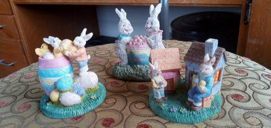 Easter Decorations Lot Of 3 for Sale in Aberdeen,  WA