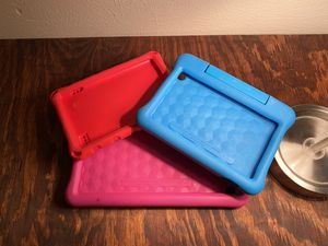Amazon Tablet Cases ($5) Fire HD 10 7th and 10th gen kidproof for Sale in Bedford, TX