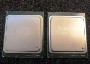 Two OEM Intel Xeon E5-2620 6-Core 2GHz 7.20GTs 15MB CPU Processor for Sale in Los Angeles, CA
