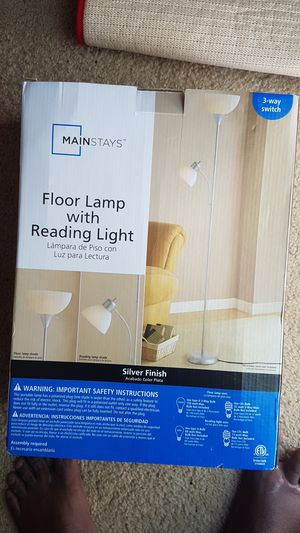 Floor Lamp With Reading Light for Sale in Natick, MA