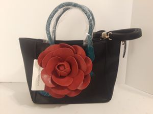 Women's Leather 3D Floral Purse Tote Crossbody Bag by Vanillachocolate for Sale in Houston, TX