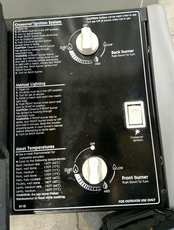 Weber Genesis Silver-A Liquid Propane Gas Grill