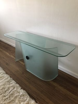 Modern Glass Side Table for Sale in Richmond, CA