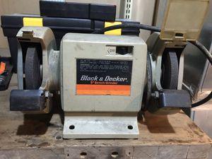 Vintage Black & Decker Table grinder for Sale in Quincy, PA