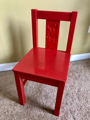 Kids wooden chair for Sale in Romeoville, IL