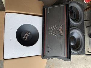Amplifier Amp speakers bass for Sale in Haines City, FL