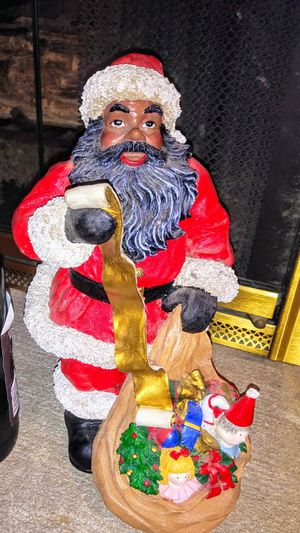 Santa clause statue christmas decoration for Sale in Lake Forest Park, WA