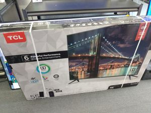 """55"""" TCL 6 series 4k UHD Smart Roku HDR LED TV for Sale in Poway, CA"""