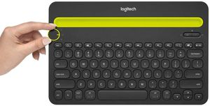 Logitech Bluetooth Multi-Device Keyboard K480 – Black – Works with Windows and Mac Computers, Android and iOS Tablets and Smartphones for Sale in Irvine, CA