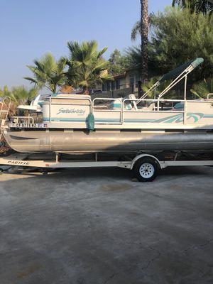 1996 Godfrey Sweetwater 20ft pontoon boat for Sale in Menifee, CA