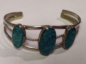 Turquoise cuff bracelet for Sale in Willow Street, PA
