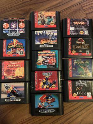 Sega genesis games good titles! for Sale in Tampa, FL