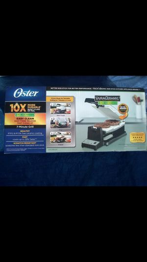 New Oster 7-Minute Grill for Sale in El Cajon, CA