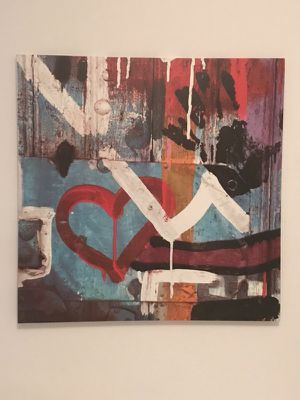 abstract love wall art canvas for Sale in Miami, FL
