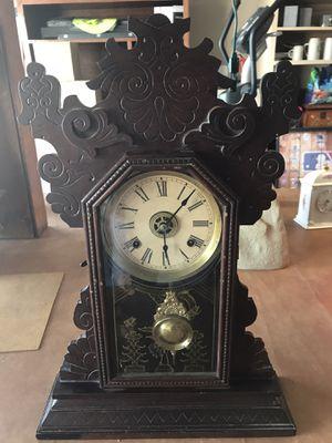 Waterbury antique mechanical clock for Sale in El Paso, TX