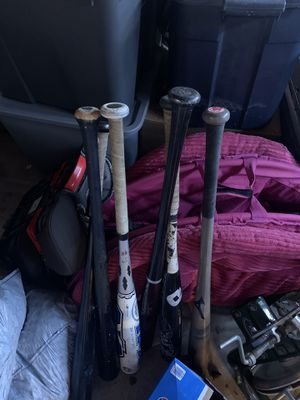 Baseball bats for Sale in Fresno, CA