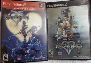 Kingdom Hearts I and II for Playstation 2, PS2 for Sale in Richardson, TX
