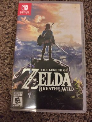 The Legend of Zelda breath of the Wild for Sale in Arvada, CO
