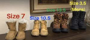 Kids Snow Boots- Boys and Girls for Sale in Fontana, CA