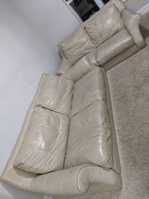 Move out sale - Leather Sofa and Love seater for Sale in Atlanta, GA