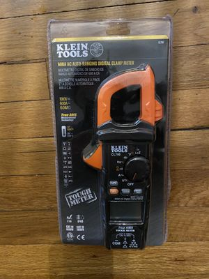 Klein tools 600A AC auto ranging digital clamp meter for Sale in Bay Shore, NY