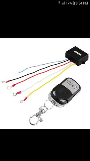 12v winch remote controle brand new for Sale in Everett, MA