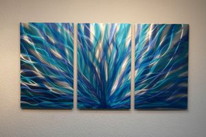 Abstract Metal Wall Art Painting for Sale in Gaithersburg, MD
