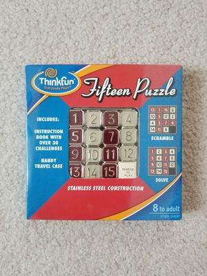 Fifteen Puzzle for Sale in Buffalo Grove, IL